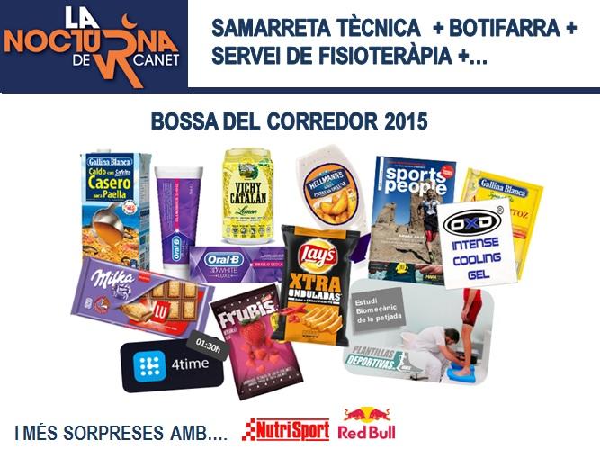 Bossa Corredor 2015 La Nocturna de Canet