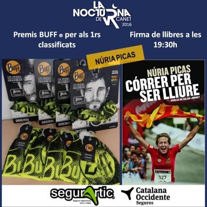 Buff i Núria Picas firma